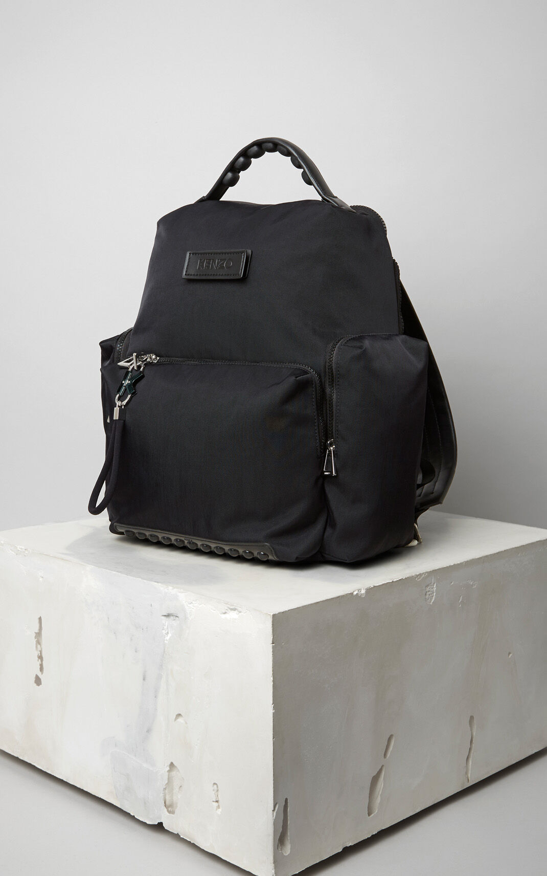 BLACK Tarmac Backpack for men KENZO