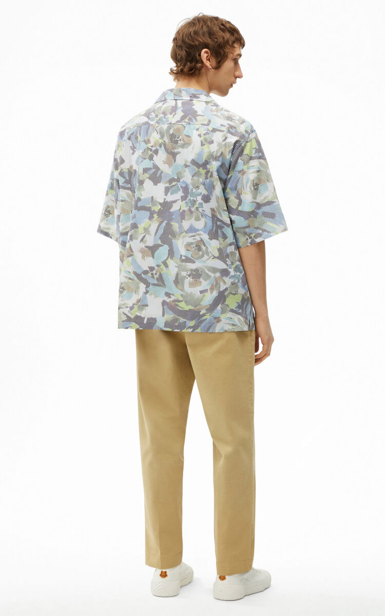 SAPPHIRE Casual 'Archive Floral' shirt for women KENZO