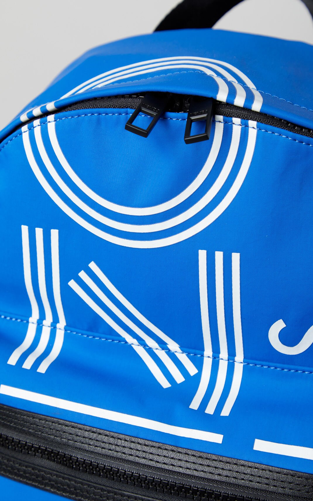 FRENCH BLUE Large KENZO Logo backpack for women