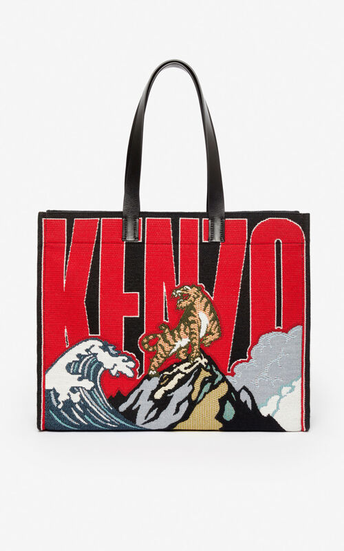 MULTICOLOR Jungle 'Tiger Mountain' tote bag for unisex KENZO