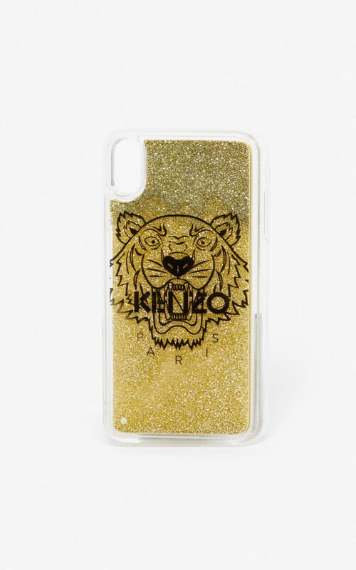 GOLD iPhone XS Max case  for unisex KENZO