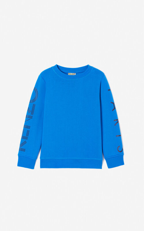 FRENCH BLUE KENZO Logo sweatshirt for women
