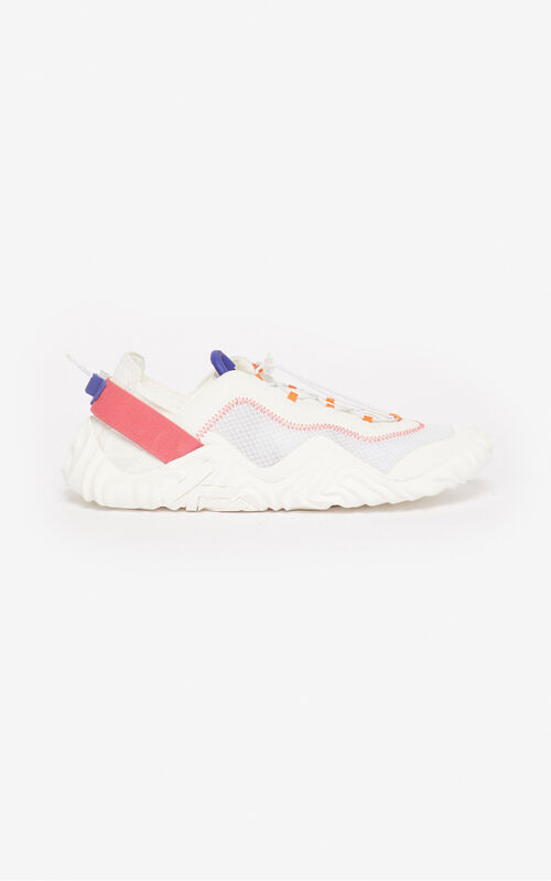 WHITE Wave trainers for unisex KENZO