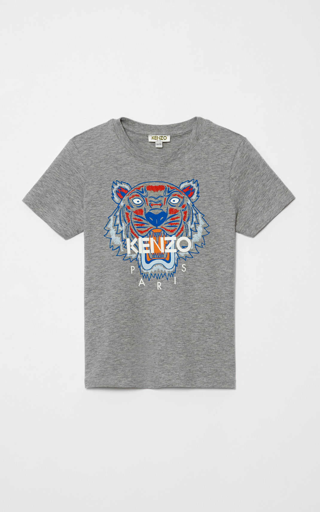 MIDDLE GREY Tiger T-shirt for women KENZO