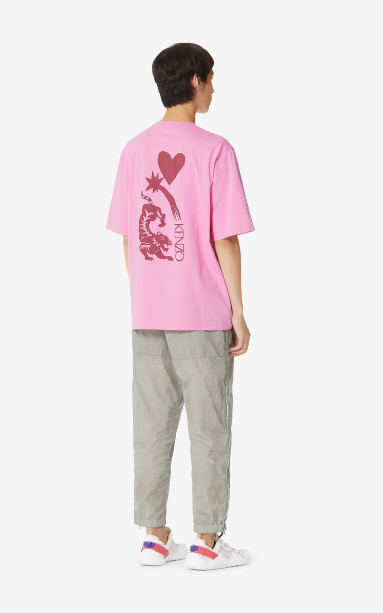 BEGONIA 'Lucky Star' T-shirt for men KENZO
