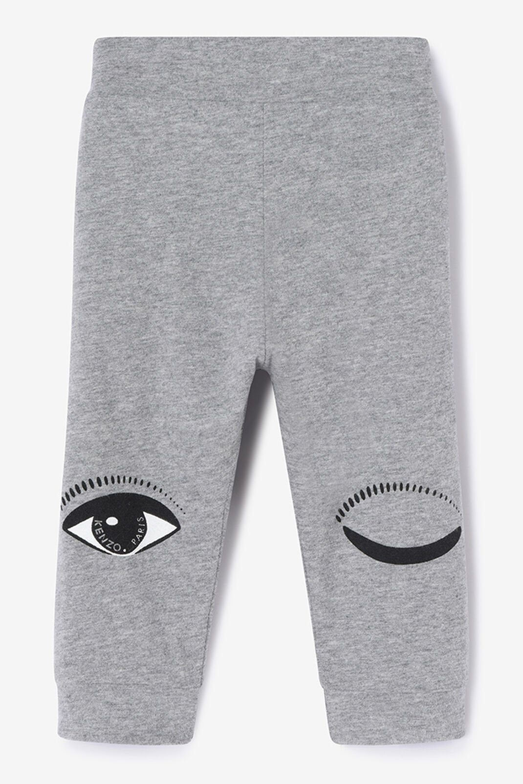 MIDDLE GREY Reversible Eyes Jogg Pants for women KENZO