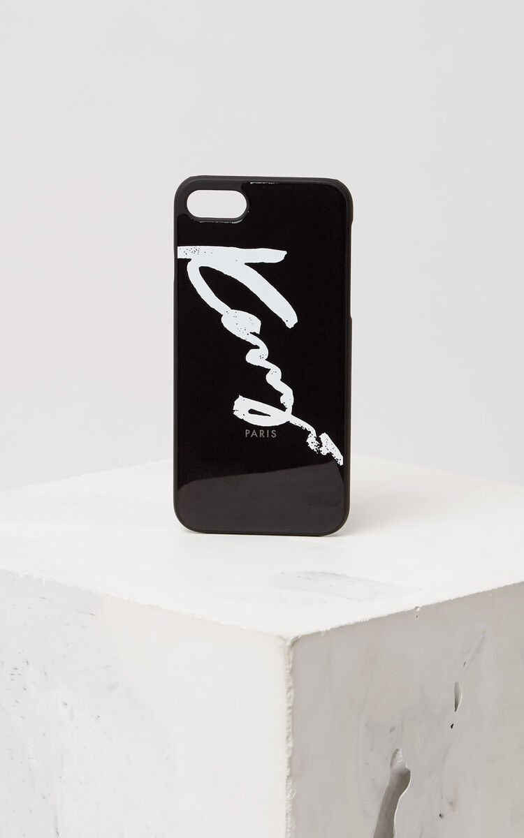 BLACK KENZO Signature iPhone 7/8 case for unisex