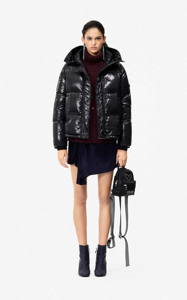 BLACK Quilted down jacket  Holiday Capsule  for women KENZO ba845bab13