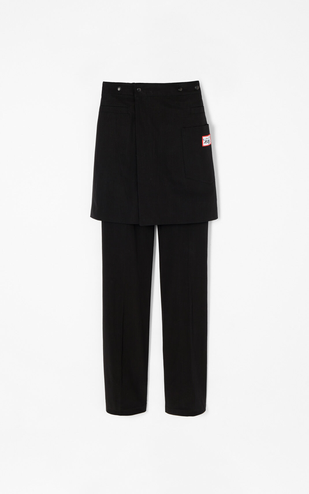 BLACK Kilt Pants for men KENZO