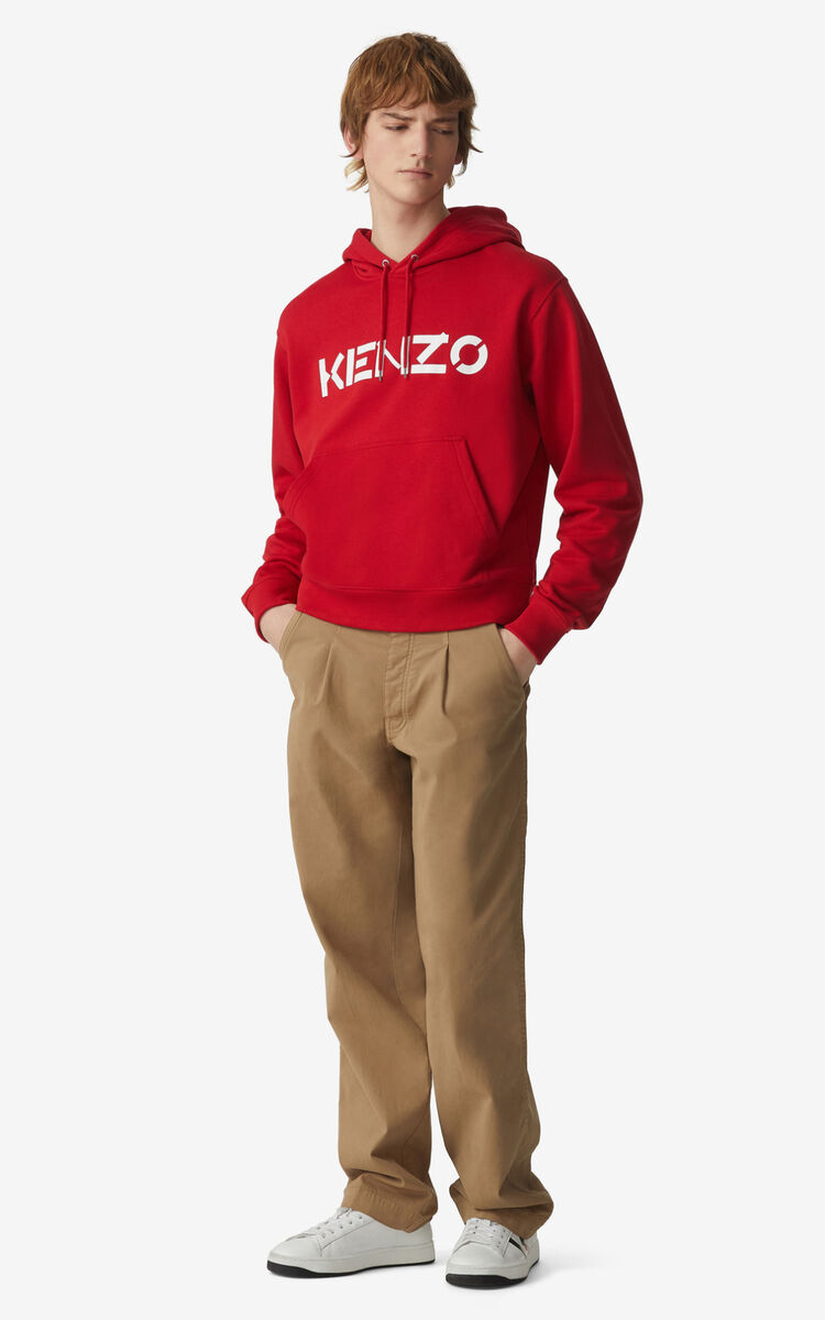 CHERRY KENZO Logo hoodie for men