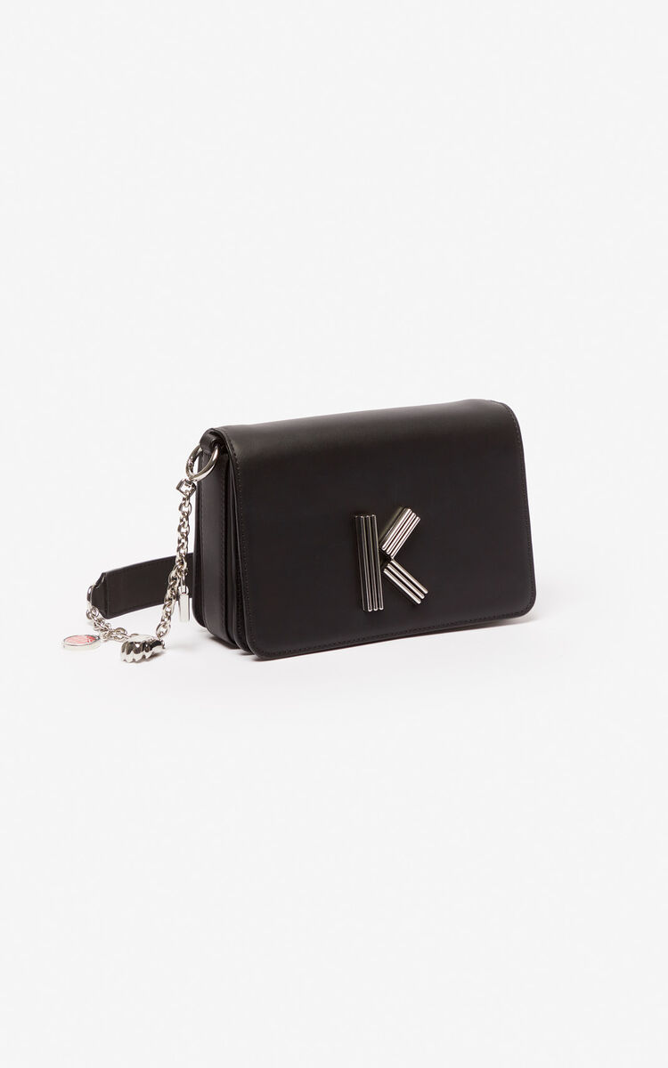 BLACK Chain shoulder strap for women KENZO