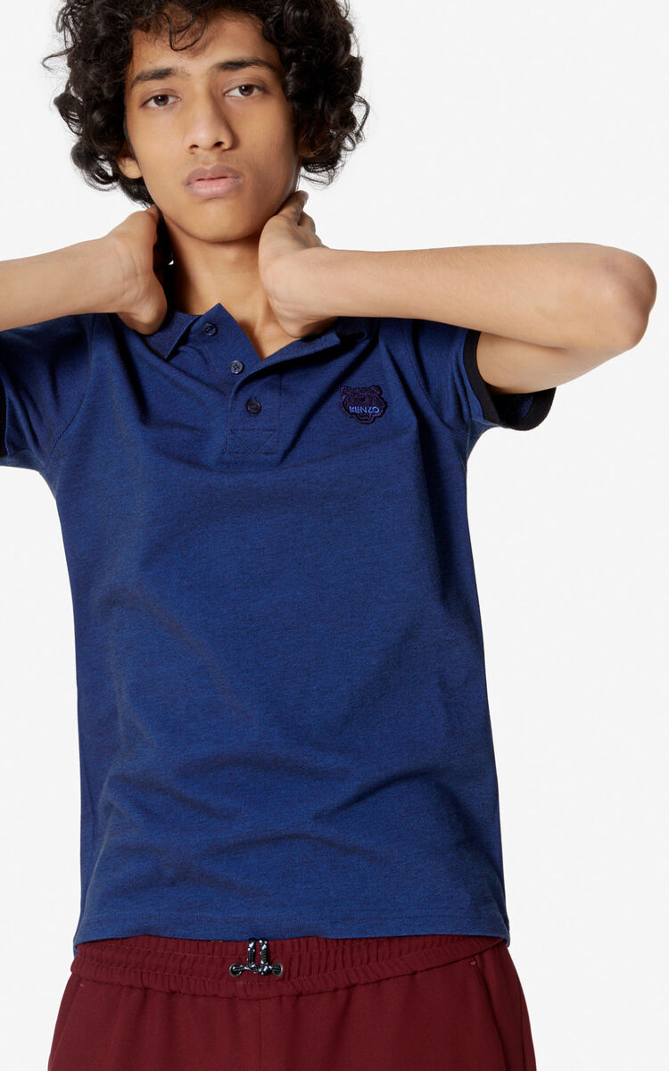 INK Fitted Tiger polo shirt for men KENZO
