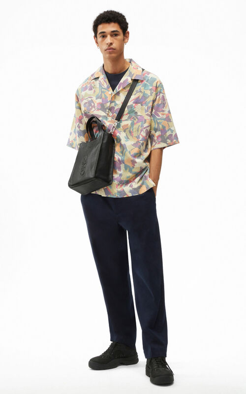 KHAKI Casual 'Archive Floral' shirt for women KENZO