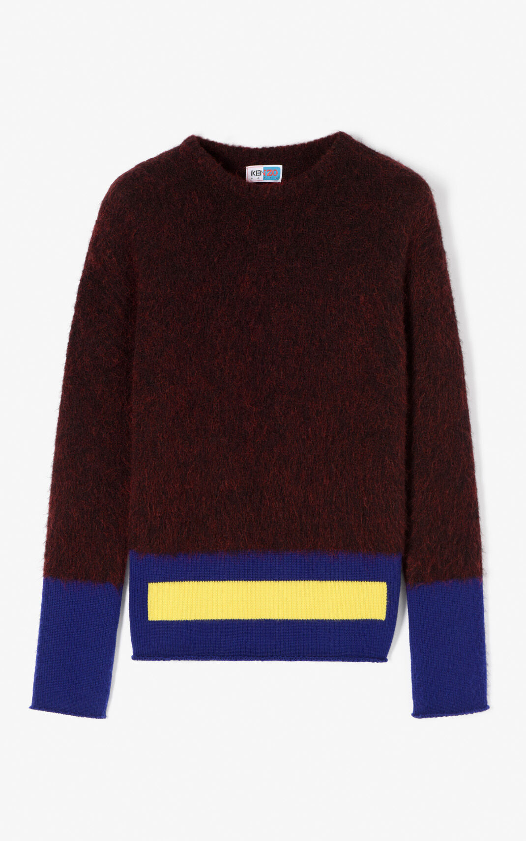 BORDEAUX Graphic sweater for men KENZO