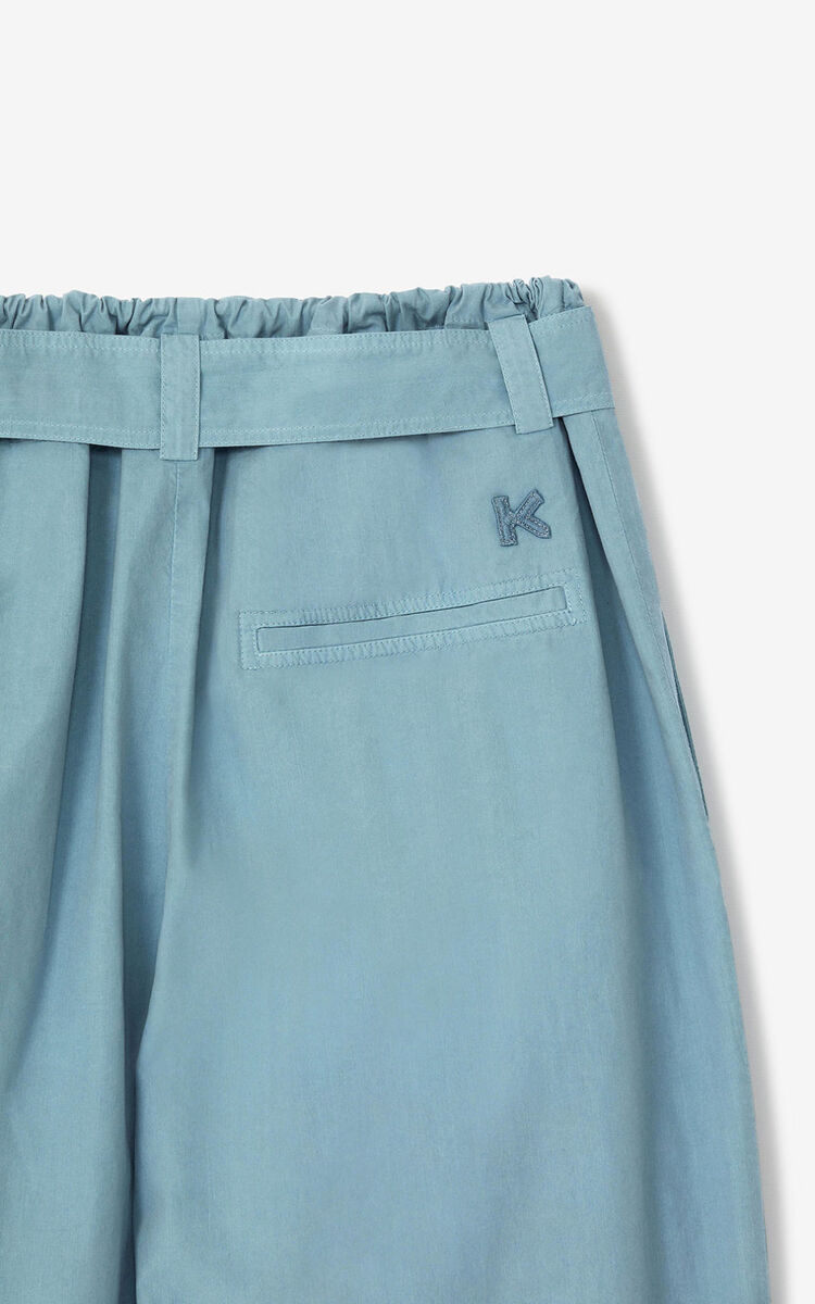 GLACIER 'High Summer Capsule' high-waisted trousers for women KENZO