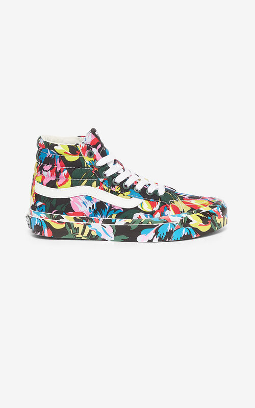 BLACK SK8-Hi 'Tulipes' KENZO/VANS sneakers  for women