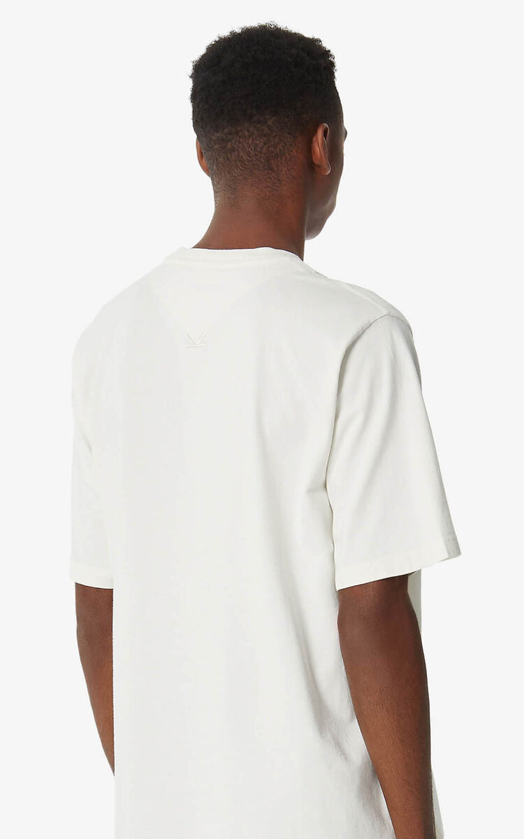 OFF WHITE 'Seashell' 'High Summer Capsule Collection' T-shirt for men KENZO