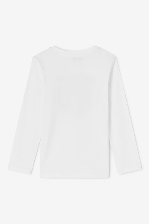 WHITE Tiger Long T-shirt for men KENZO