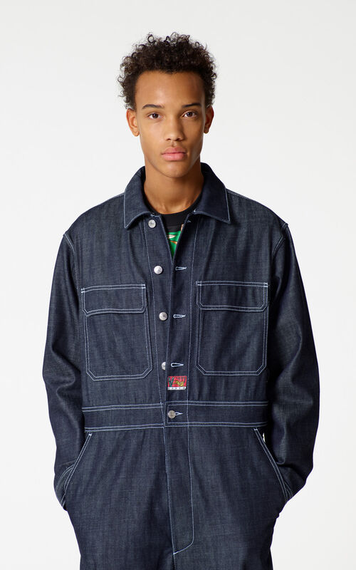Denim jumpsuit for men KENZO