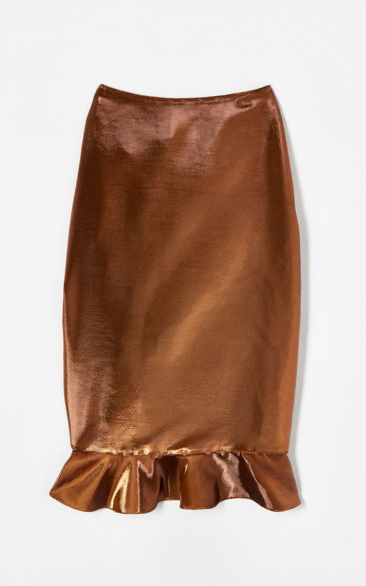 COPPER 'Holiday Capsule Collection' Ruffled Midi Skirt for women KENZO