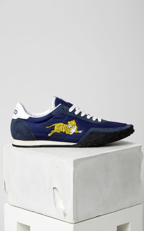 NAVY BLUE KENZO Move trainers for men
