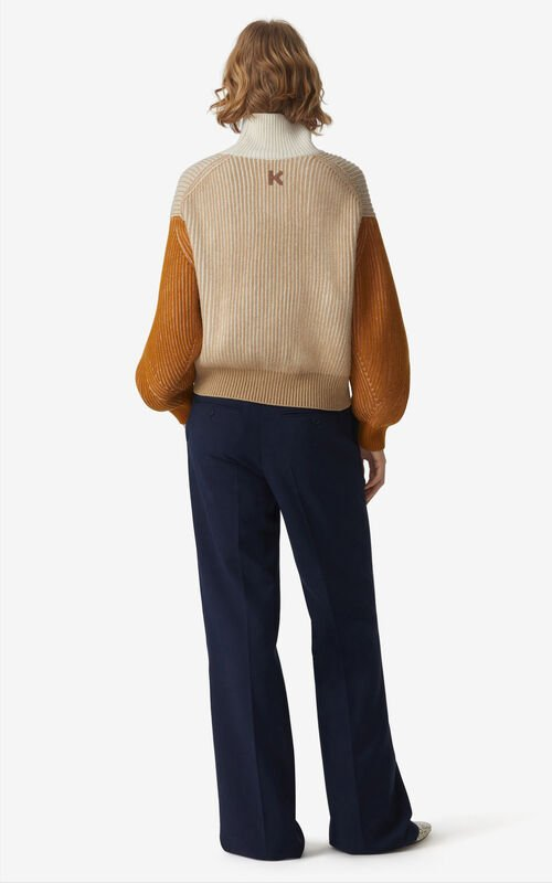 BEIGE 'Fisherman' jumper for women KENZO