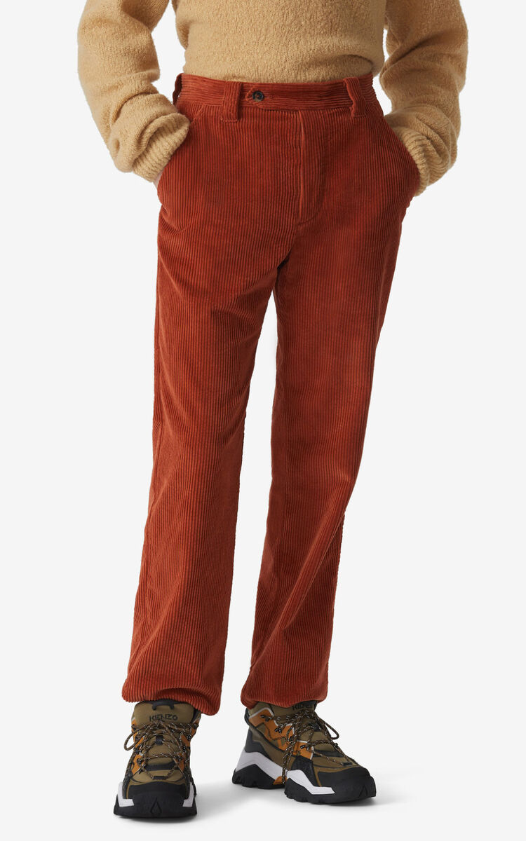 SUEDE Cropped trousers for women KENZO