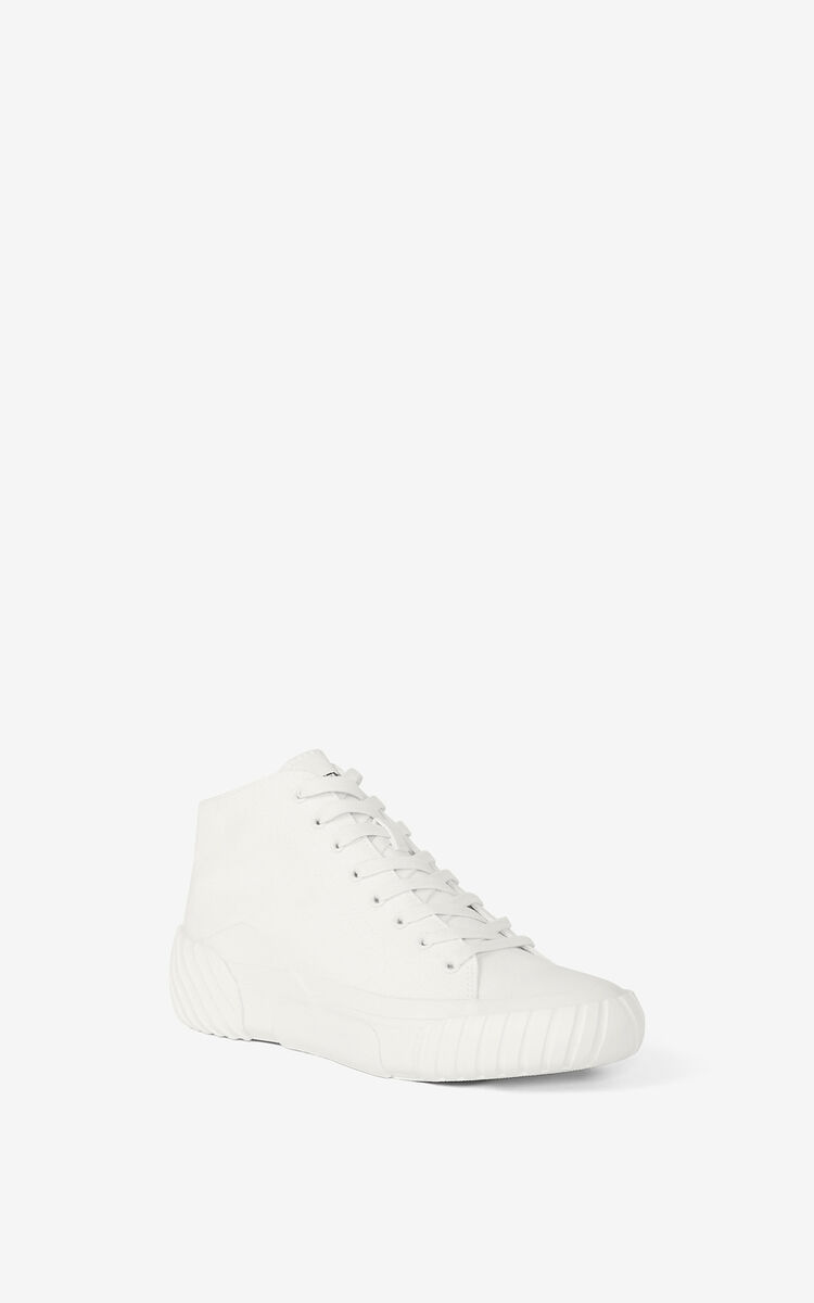 WHITE Tiger Crest high-top trainers   for unisex KENZO