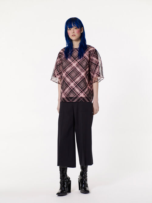 BLACK High Rise Trousers  for women KENZO