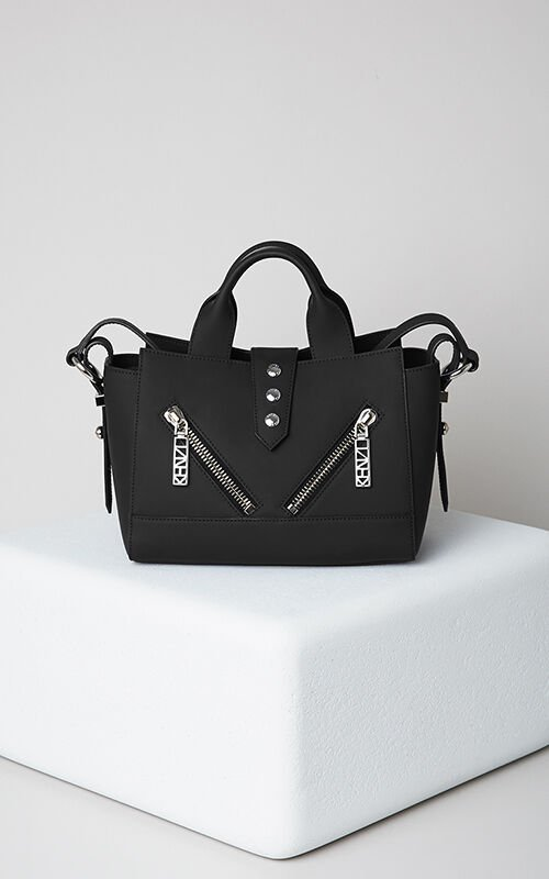 BLACK Mini Kalifornia Gommato Leather for unisex KENZO