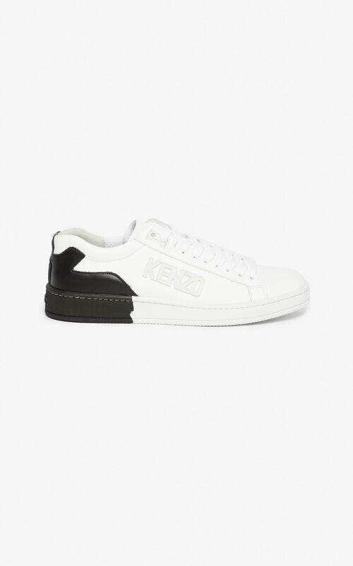 BLACK Tennix Sneakers for men KENZO