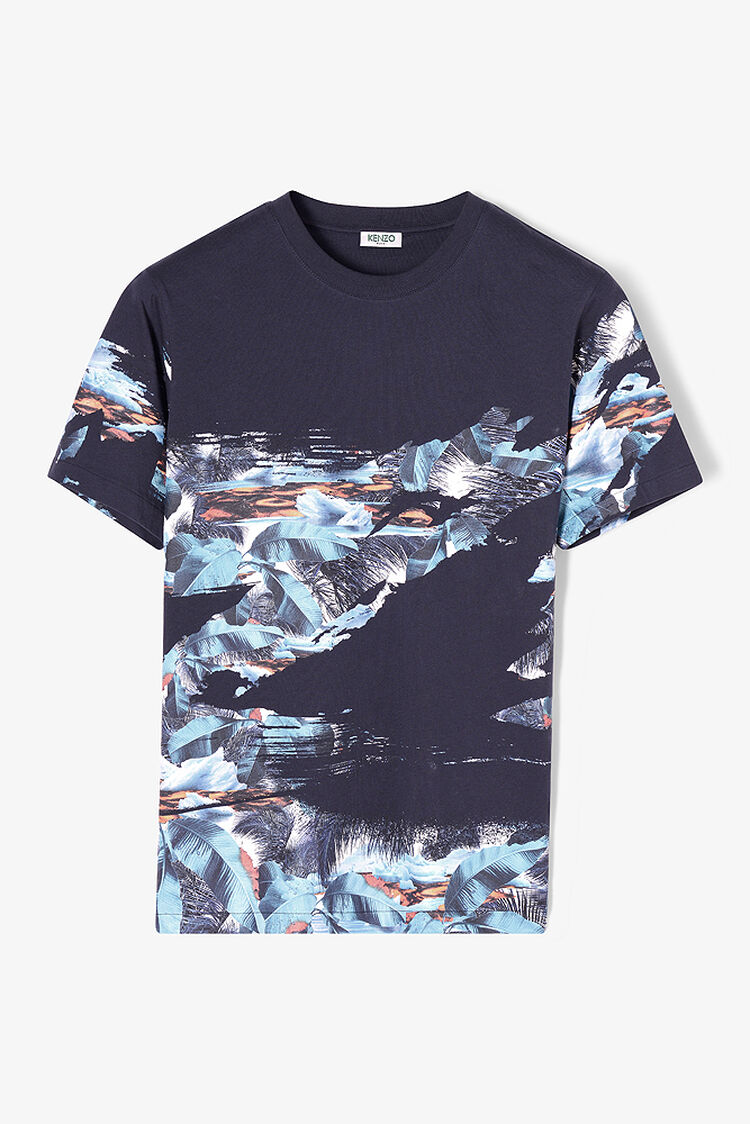 DUCK BLUE Tropical Ice' T-shirt for men KENZO