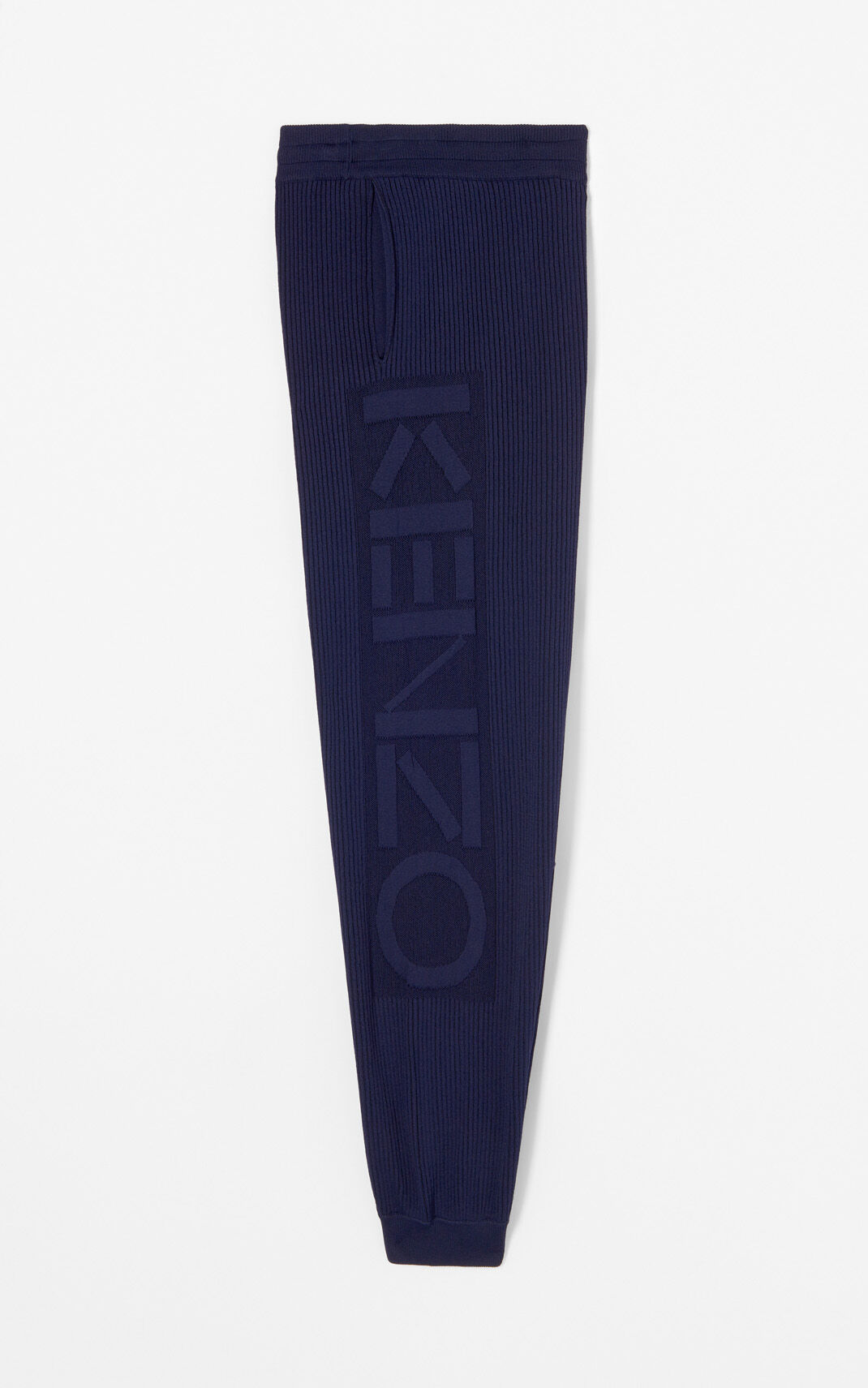 INK KENZO Logo ribbed trousers for women