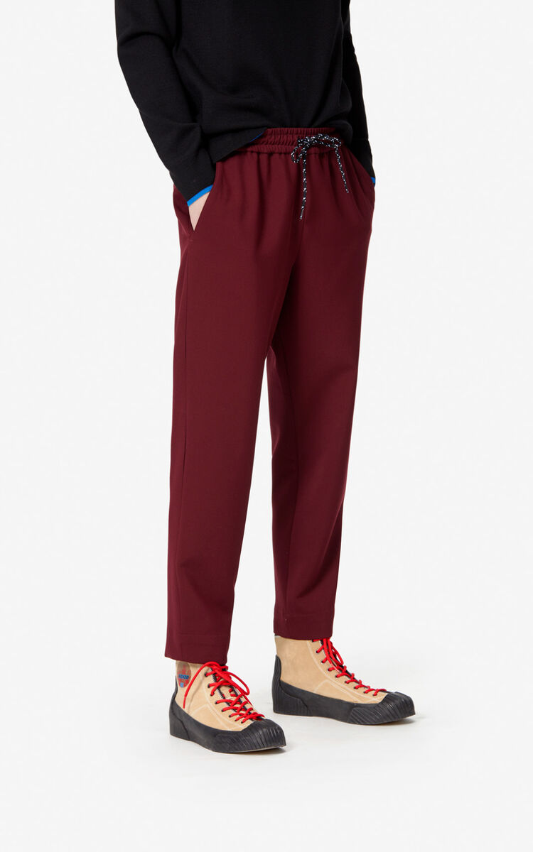 BORDEAUX Tapered trousers for men KENZO