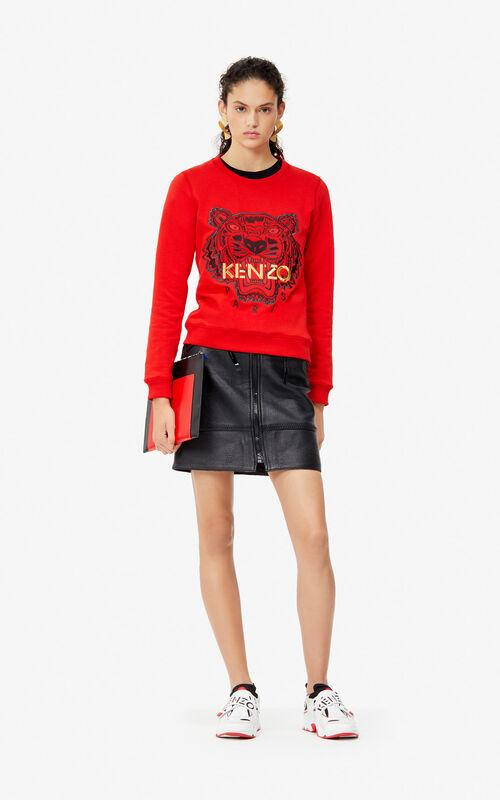 VERMILLION Tiger sweatshirt 'Exclusive Capsule' for women KENZO