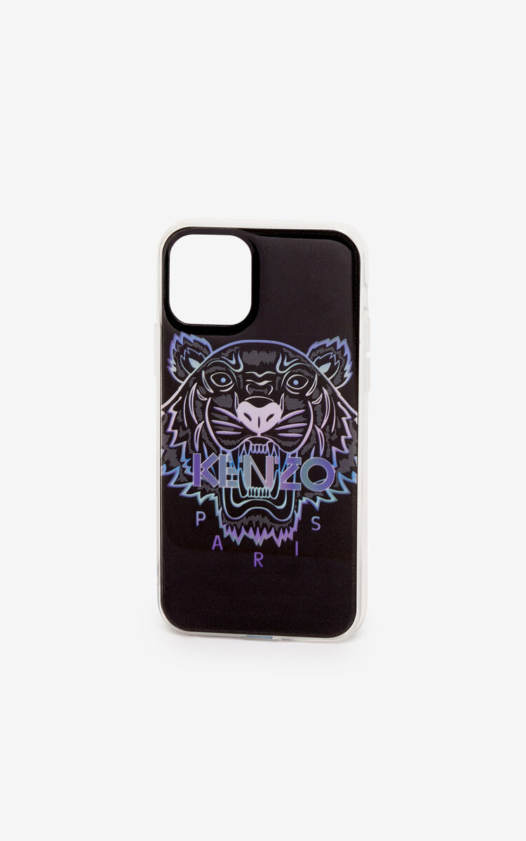 BLACK iPhone XI Pro Tiger case for unisex KENZO