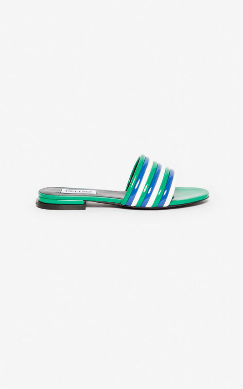 a2580836f78e GRASS GREEN Ana mules for unisex KENZO ...