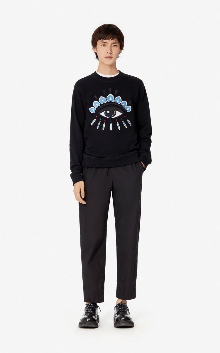 BLACK Eye sweatshirt for men KENZO