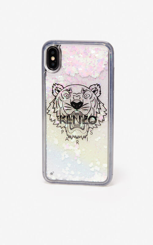 WHITE iPhone XS Max Tiger case for women KENZO