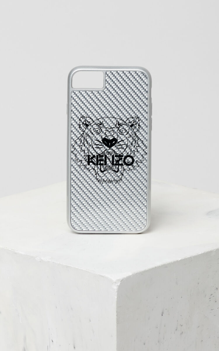 SILVER Tiger iPhone 7/8 case for women KENZO