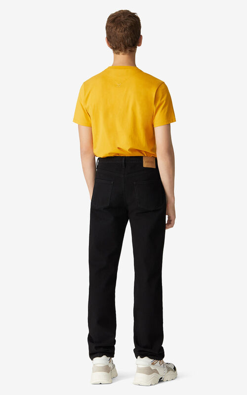 BLACK Regular fit jeans for men KENZO