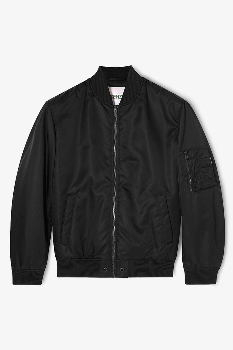 BLACK KENZO Bomber for women