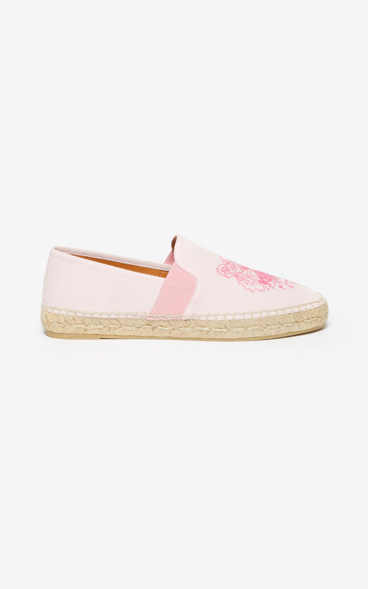 FADED PINK Tiger espadrilles for unisex KENZO