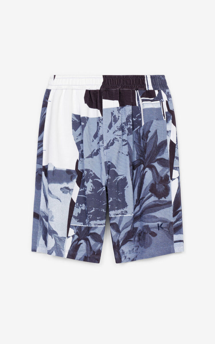 GLACIER 'High Summer Capsule' 'Cut-out Flowers' shorts for men KENZO