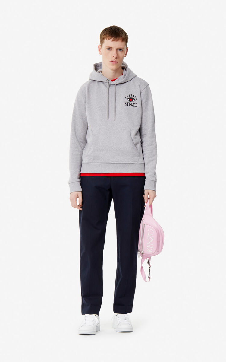 PEARL GREY 'Cupid' hoodie 'Capsule Back from Holidays' for men KENZO