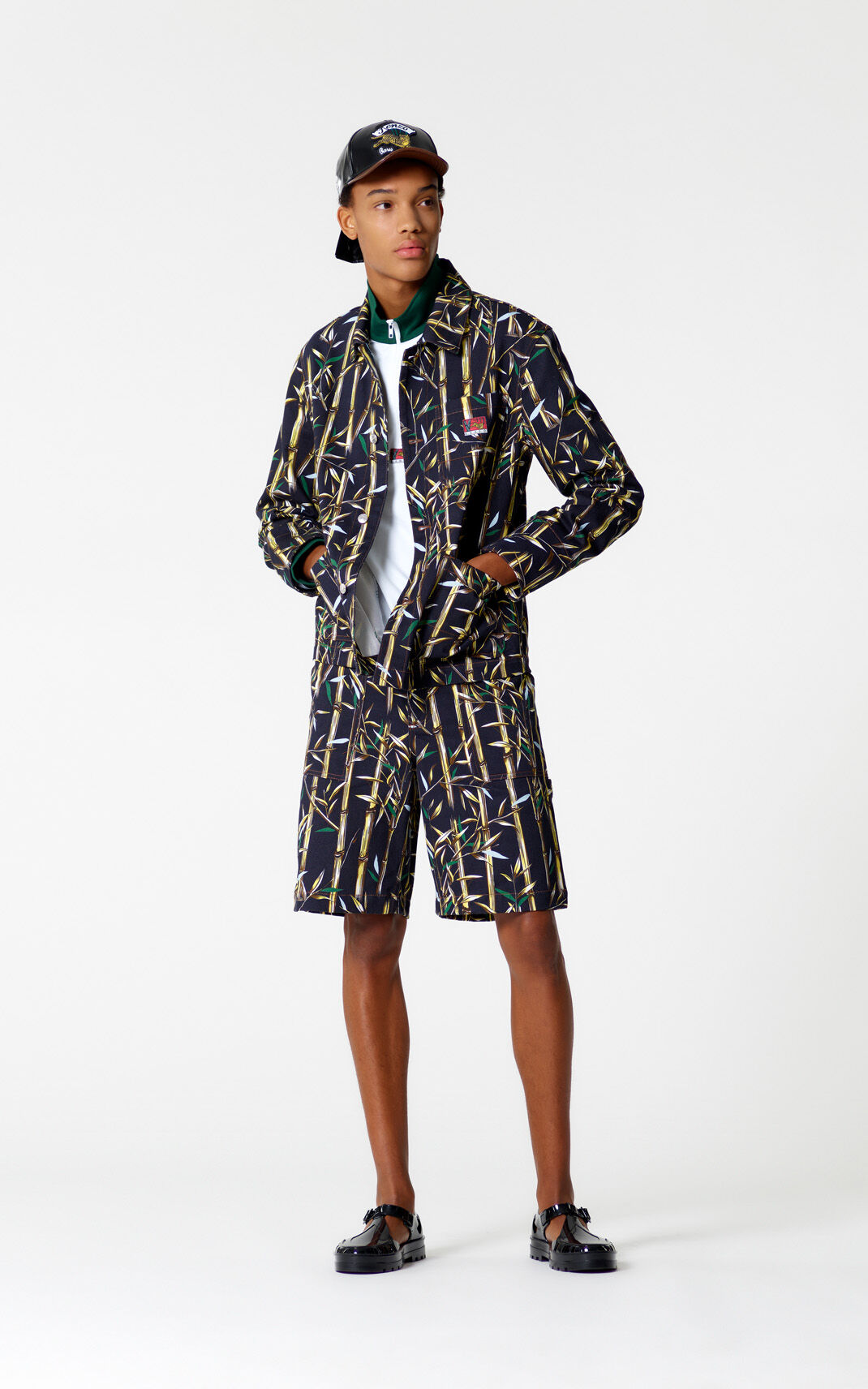 INK 'Bamboo Leaf' jacket for women KENZO
