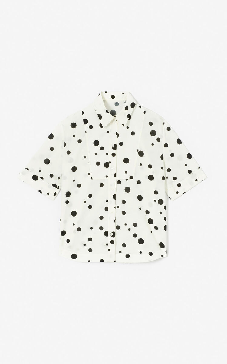 BLACK 'Dots' shirt for women KENZO