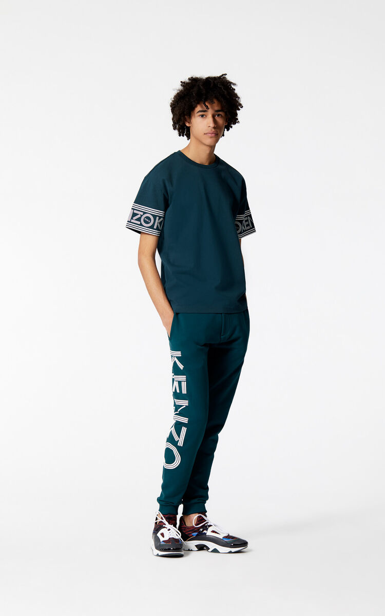 PINE KENZO Logo sweatpants for women