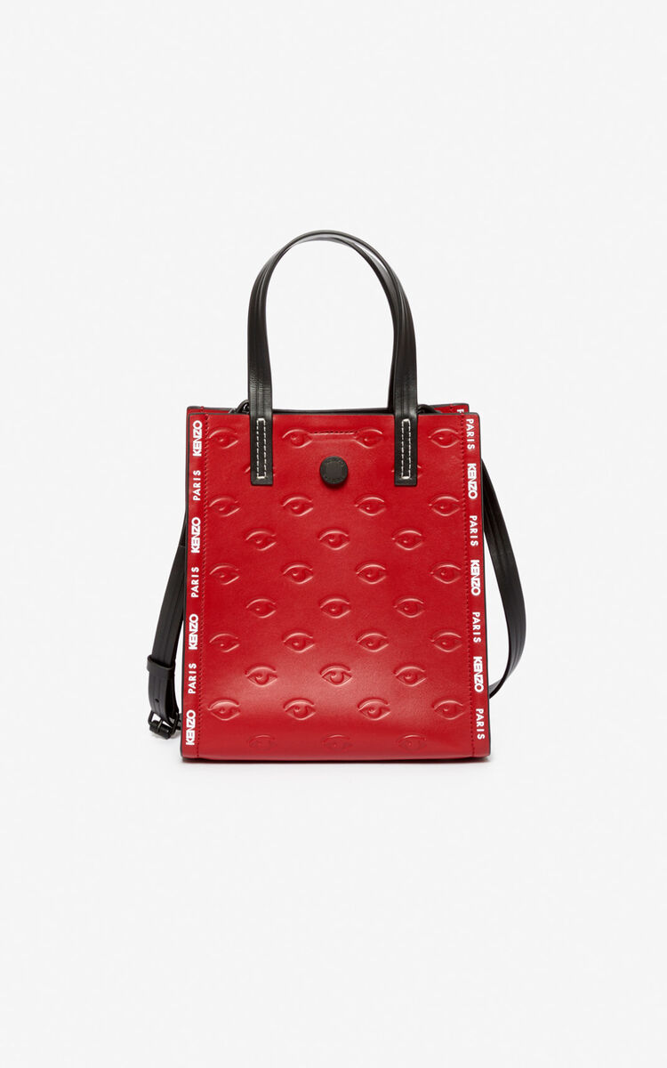 CHERRY Small Blink multi-Eye tote bag for unisex KENZO