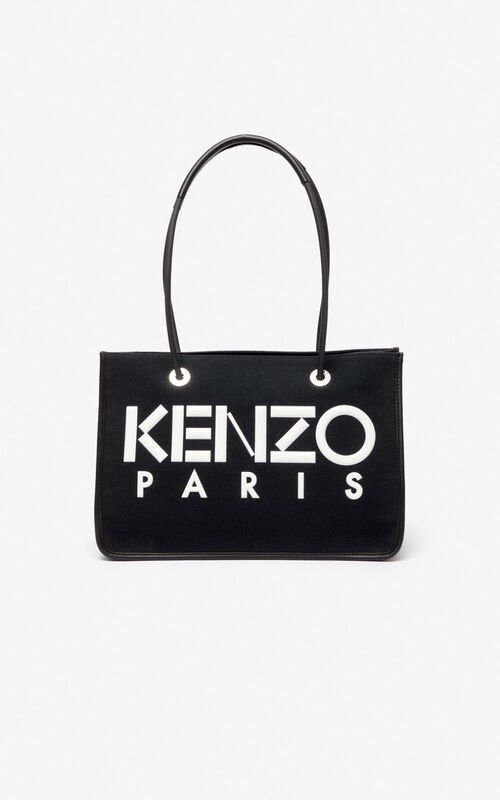 BLACK KENZO Kombo tote bag for unisex